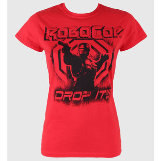 film t-shirt women's Robocop - Drop It - PLASTIC HEAD - PH7206