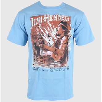 t-shirt metal men's Jimi Hendrix - Cry of Love Tour - LIQUID BLUE, LIQUID BLUE, Jimi Hendrix
