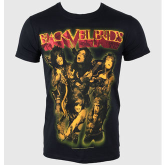 t-shirt metal men's Black Veil Brides - Shhh - PLASTIC HEAD - PH6084