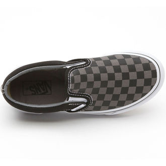 boots VANS - Classic Slip-on - Black / Pewter Checkerboard
