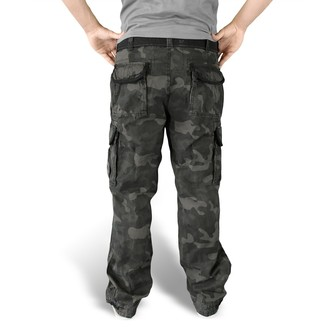 pants men SURPLUS - Premium Vintage - Black Camo - 05-3597-42
