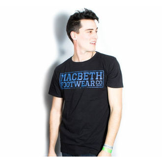 t-shirt street men's - Embossed - MACBETH