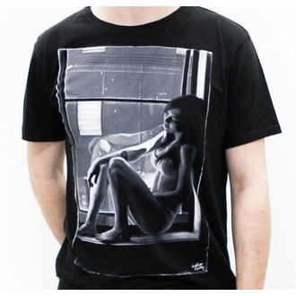 t-shirt street men's - Girl - MACBETH - Black Premium
