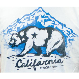 t-shirt street men's - California - MACBETH