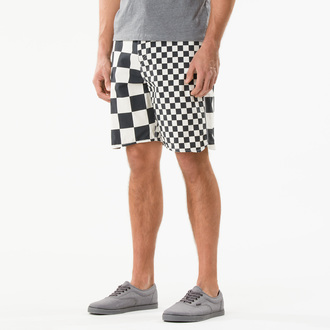 swimsuits (shorts) men VANS - Era Classic - Black / White / Che