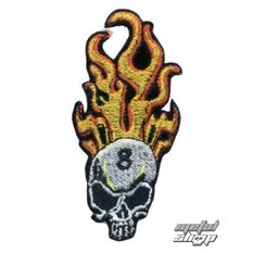 iron-on patch Skull 4, NNM