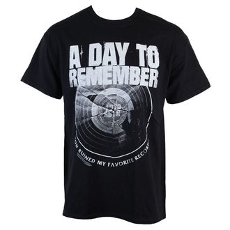 t-shirt metal men's A Day to remember - Broken Record - VICTORY RECORDS - VT799