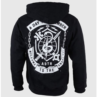 hoodie men's A Day to remember - Snake Pit Black - VICTORY RECORDS - VT937-ZU