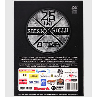 DVDs DOGA- 25 years Rock'n'Roll