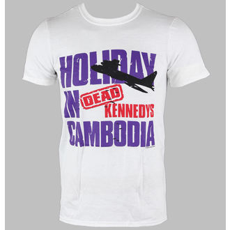 t-shirt metal men's Dead Kennedys - Cambodia - LIVE NATION - PE10077TSW