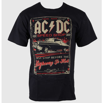 t-shirt men AC / DC - Speedshop - LIQUID BLUE - 31818