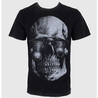 t-shirt street men's - Too Much - IRON FIST - Black