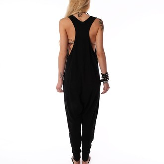 overal women's IRON FIST - Loose Tooth Romper - Black