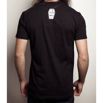 t-shirt hardcore men's - Black Tee - Akumu Ink