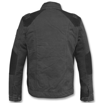 spring/fall jacket men's - Blake - BRANDIT - 3129-schwarz