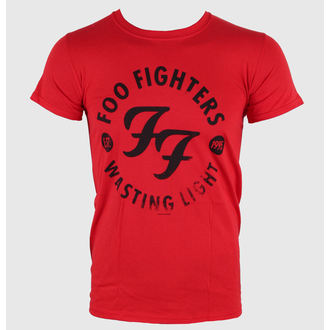 t-shirt metal men's Foo Fighters - Wasting Time Red - LIVE NATION, LIVE NATION, Foo Fighters