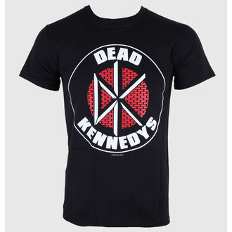 t-shirt metal men's Dead Kennedys - Brick Logo - LIVE NATION - PE10074TSBP
