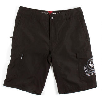 swimsuits men (shorts) METAL MULISHA - Asset - Hybrid - BLK