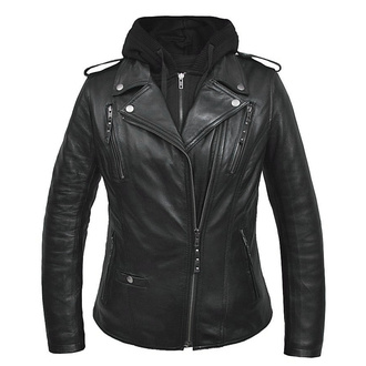 Women's biker jacket (set hoodie + jacket) UNIK, UNIK
