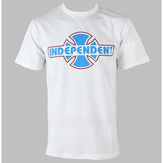 t-shirt men INDEPENDENT - Stock OGBC - White