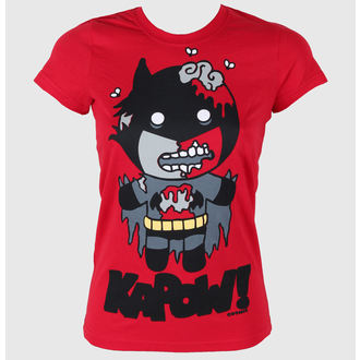 t-shirt women COSMIC - Batzombie - Red
