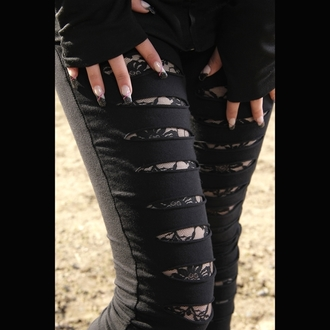 pants women (leggings) POIZEN INDUSTRIES - Slasher