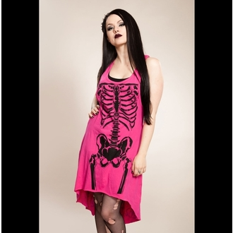 dress women HEARTLESS - Skela - Pink / Black