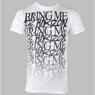 t-shirt metal men's Bring Me The Horizon - Stacked - BRAVADO - 31921015