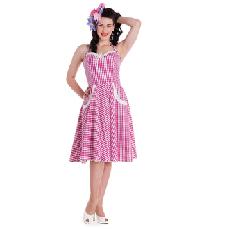 dress women HELL BUNNY - Charlotte - Pink - 4226
