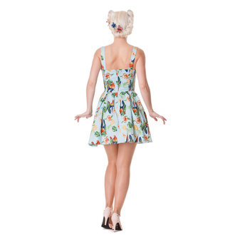 dress women HELL BUNNY - Becky - Blue