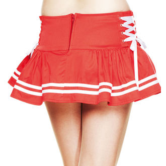 skirt women's HELL BUNNY - Motley - Red - 5249