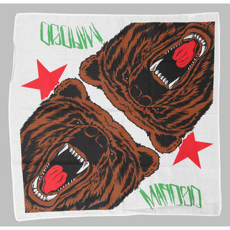 kerchief Mafiosi - Cali Bear - White - 1390