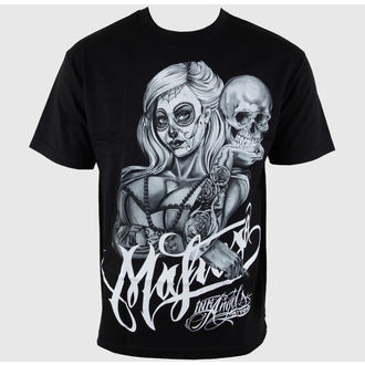 t-shirt hardcore men's - Skully - MAFIOSO - Skully-1408