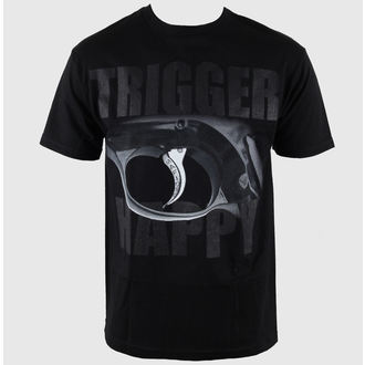 t-shirt men Mafiosi - Trigger Happy - Black - 1266