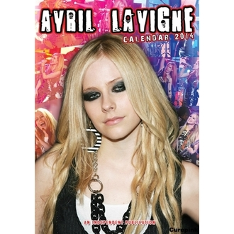 calendar to year 2014 Avril Lavigne