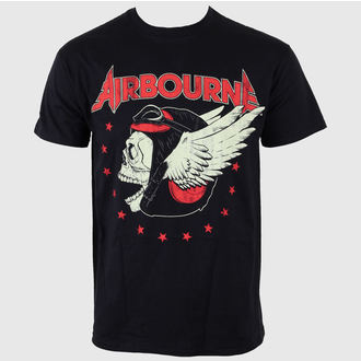 t-shirt metal men's Airbourne - Pilot Fighter - LIVE NATION, LIVE NATION, Airbourne