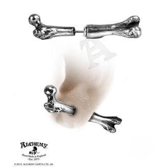 earrings Femur Bone - ALCHEMY GOTHIC - E322