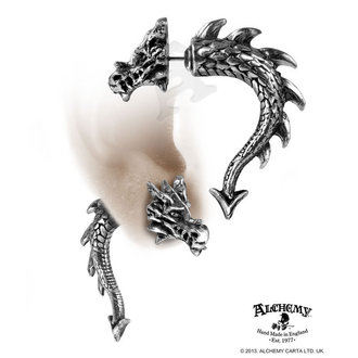 earrings Tor Dragon - ALCHEMY GOTHIC - E324