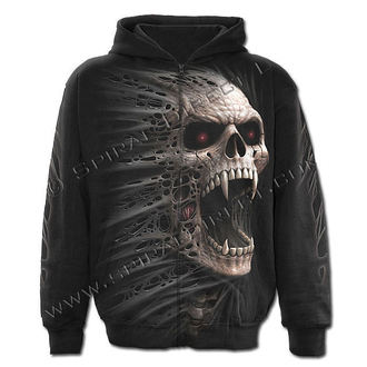 hoodie men with zipper SPIRAL - Cast Out