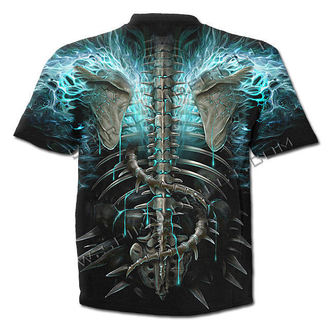 t-shirt men SPIRAL - Flaming Spine