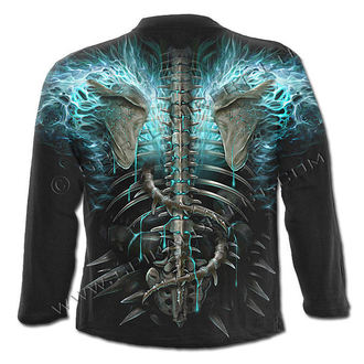 t-shirt men with long sleeve SPIRAL - Flaming Spine