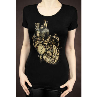 Women's t-shirt Restyle - Mechanical Hear Steampunk - 089