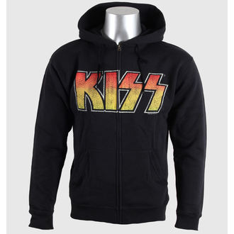 hoodie men's Kiss - Vintage Logo - LIVE NATION - 40290