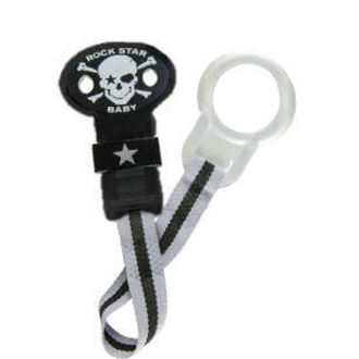 chain to pacifier ROCK STAR BABY - Pirate 2 - 90050