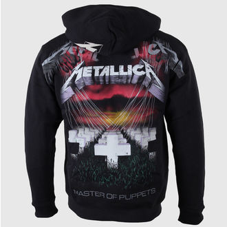 hoodie men Metallica - Master of Puppets - Black - LIVE NATION - RTMTL03404