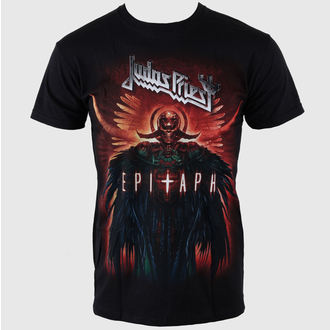 t-shirt metal men's Judas Priest - Epitaph Jumbo - ROCK OFF - JPTEE08MB