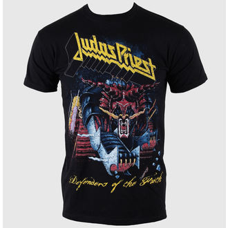 t-shirt metal men's Judas Priest - Defender Of Faith - ROCK OFF - JPTEE03MB