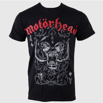 t-shirt metal men's Motörhead - - ROCK OFF - MHEADTEE12MB