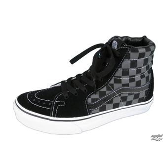 high sneakers - Sk8-Hi - VANS - Black/Pewter Checkerboard