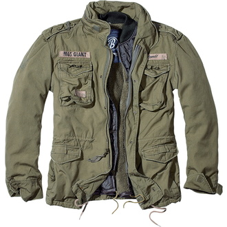 jacket men winter BRANDIT - M65 Giant Olive - 3101/1